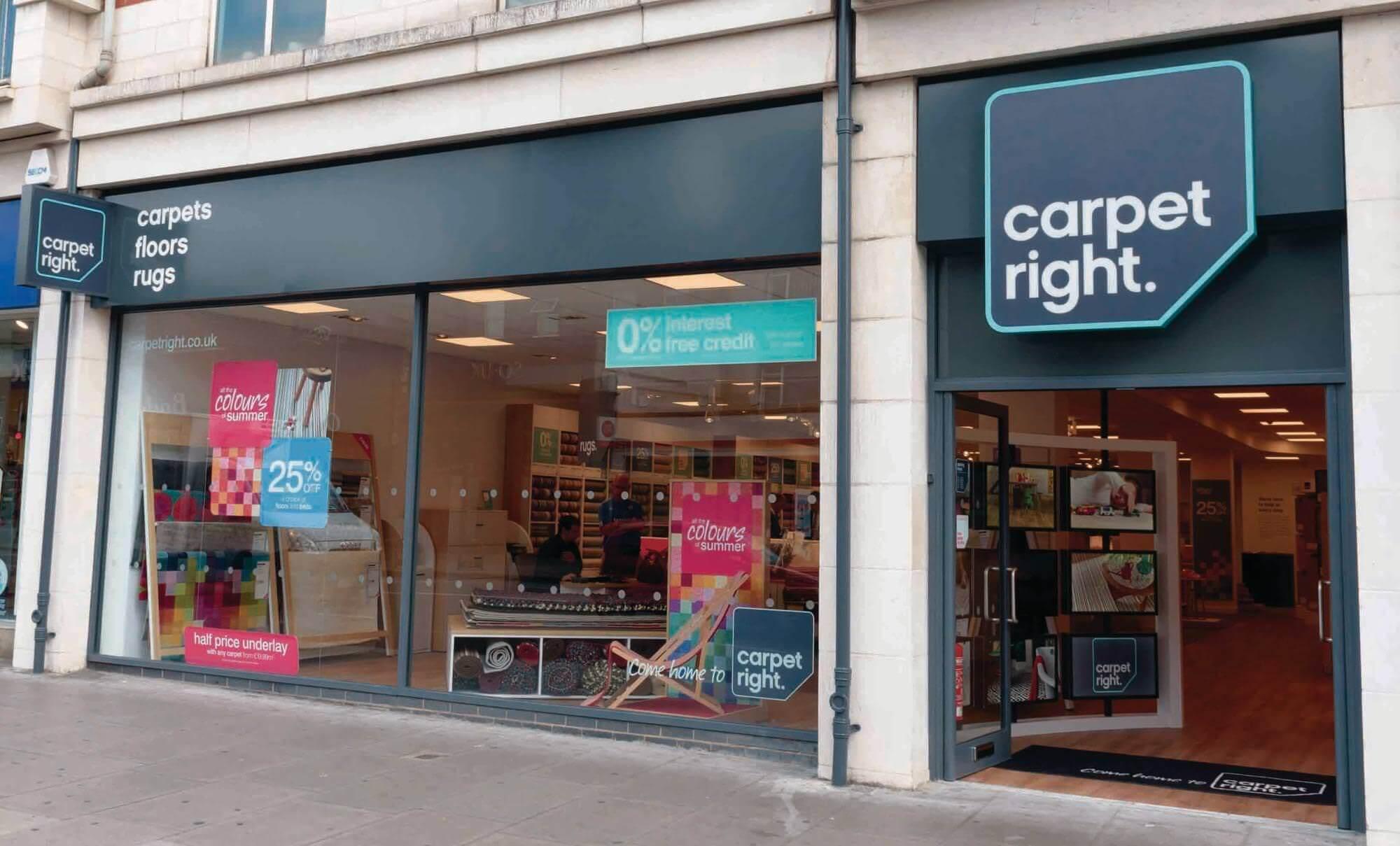 Carpetright shop front