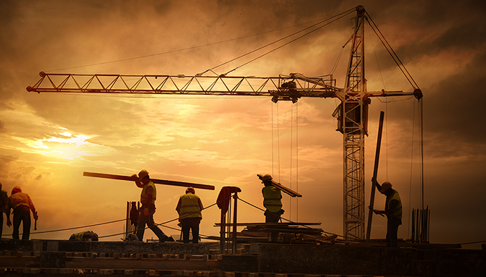 Construction contractors image
